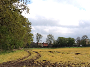 Anfahrt nach Wiebendorf